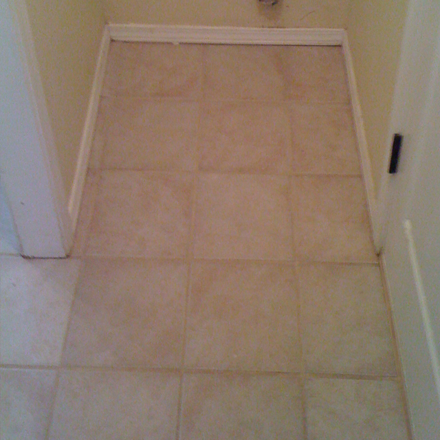 After-Tile & Grout Cleaning